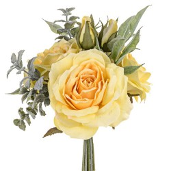 Sophia Roses Bouquet Lemon Yellow - SOP004 FF2