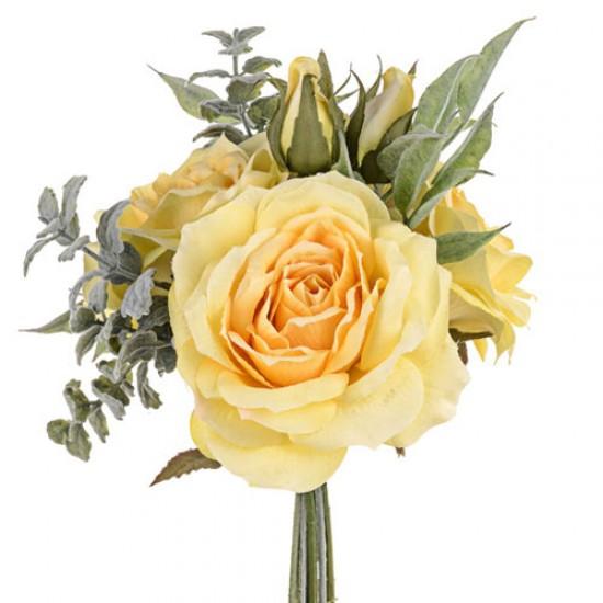 Sophia Roses Bouquet Lemon Yellow - SOP004 FF2