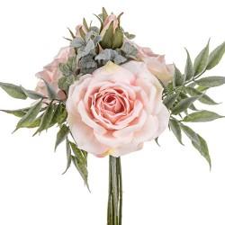 Sophia Roses Bouquet Pink Peach - SOP003 FF2