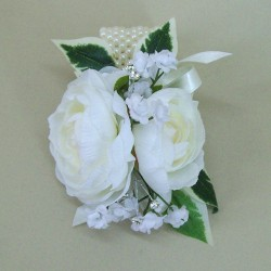 Wrist Corsage Ivory Camellia - WCOR020
