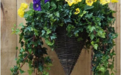 Artificial flowers can look real if chosen wisely and natural growing seasons are followed