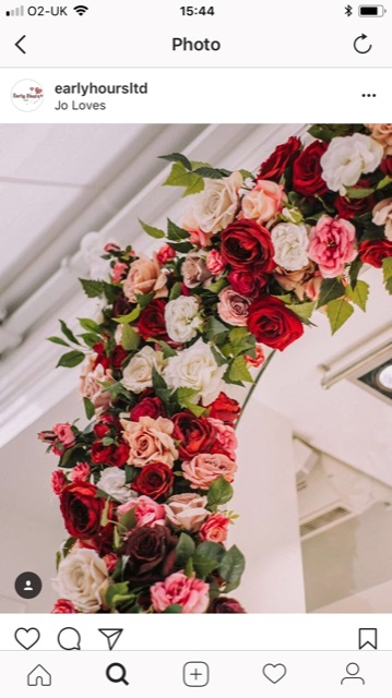 Love is in the air at jo loves thanks to early hours london ltd and tags artificial flowers valentines roses jo loves early hours london jo loves roses mightylinksfo